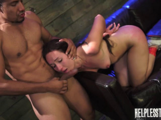 Evelyn Earns a Ride with Domination & Rough Outdoor Sex