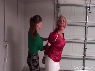 Secretary Sandra Nabbed by Bosslady AJ Marion, Tied, Thrown in the Trunk