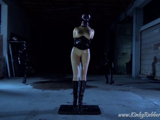 Restricted And Used By The Two Masked Rubberguys - Fethish Nelja - HD 720p