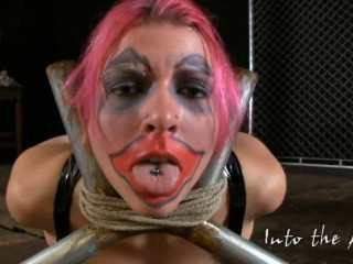 Bondage, strappado, hogtie and torture for sexy girl part 1