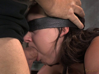 Lovely Lil' Amy Faye Belted Down Onto Sybian