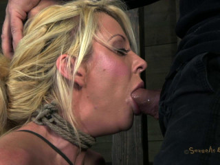 Sexually Battered - Courtney Taylor, bound, manhandled, used, drilled - Feb 20, 2013