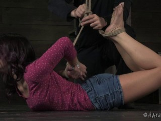 HardTied - Cute Tiny Liar - Kristina Rose, Cyd Dark-hued - Dec 18, 2013