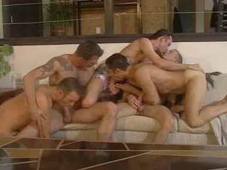 Gangbang Anthology With Muscle Fuckers