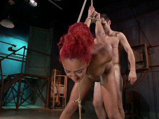 Super-hot Rookie is Violently Drilled Daisy Ducati  - BDSM, Humiliation, Torment HD 720p