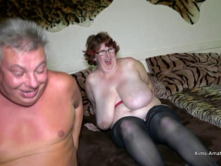 Massive natural breasted mature wife gets shared