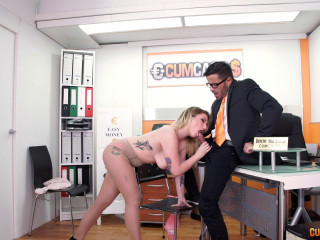 big tit spanish lucia fernandez fucked in the office 1080p