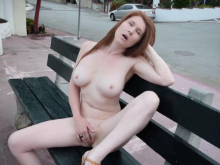 Redhead Busted in Public