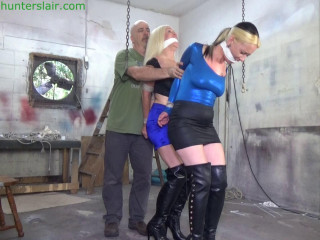 Breast cuffed predicament for the hapless duo