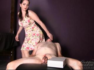 Alexandra Snow - Nude Pantyhose Facesitting