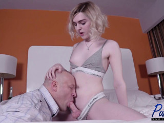 Young TS Superstar Assfucked By Huge Dick