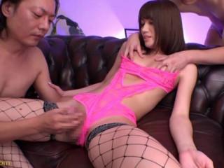 Impressively Handsome Woman Ladyboy Debut AyaginuSaki Anzu