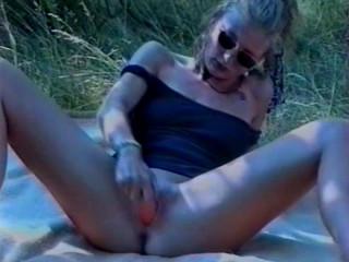 Picnic with a dildo