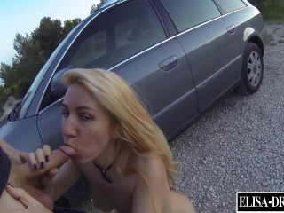 Cheating Gets Culo Screwed Outdoors By A Dude