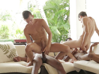 Mammoth Dicks In Multiracial Hook-up