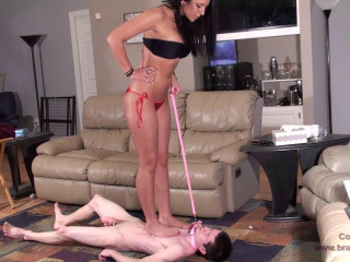 Christina in  and Stomps a Highly Smallish Victim (2013)