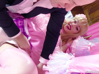 Sasha De Sade Cock Sucking Ass Licking Good Sissy (2018)