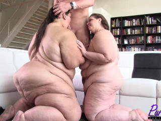 Massive Ssbbw Apple Bomb does her first-ever hardcore