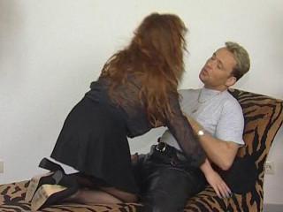 Desperate sex after bj