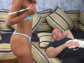 Swart ass stuffing