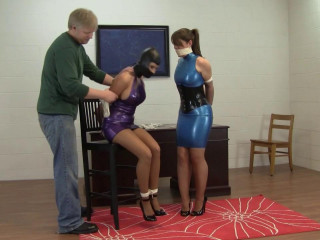 Holly Wood and Elizabeth Andrews - Fantasizing About Spandex Playtime