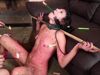 Slavegirl Cary & Domina Karina Carys Aggressive Instructing