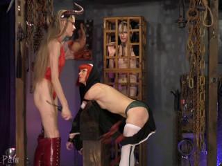 Please Satan - Abigail Dupree,River Enza,Goddess Kyaa