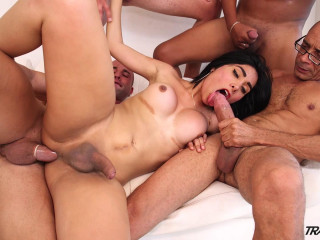 Taiira Navarrete's First-ever Gang-fuck