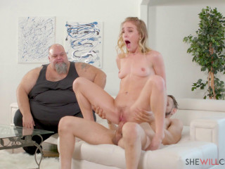 Natalie Knight - Sexy young blonde fucks BBC (2020)
