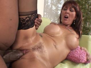 Big Tits Milf Get Interracial Fuck