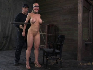 Another Bondage Legend Taking The Cock!