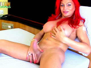 Naughty Redhead Alexia Dchamps!