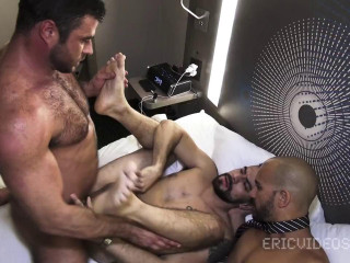 Dominic Sol, Mike Dozer & Antonio Biaggi - Getting Loaded at Lunch Time