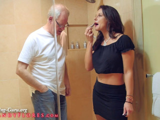 Busting in Maui : Toilet Humiliation : Mandy Flores