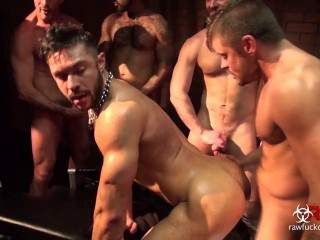 Seth Santoros Gang Bang - Part 2