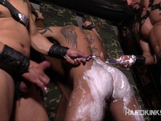 The Shaving Antonio Marvel Julio Rey Mario Domenech - Brutal Gays HD 720p