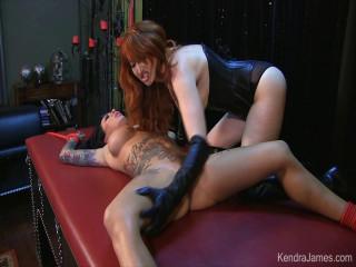 Kendra James Fetish Experience - Dominated Smoking Slut Part 2
