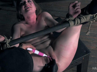 Dresden Is Spanked And Teased To Multiple Induced Orgasms