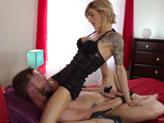 Nina Lawless Pulverizes Mike Funk in Restrain bondage