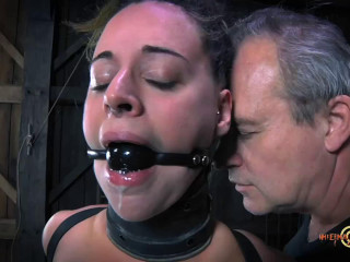 Hard bondage, domination and torture for very hot slut part 2