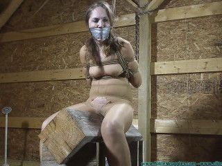 Rachel Rails the Pony After being Pubes Fettered 3 part - BDSM,Humiliation,Torture HD 720p