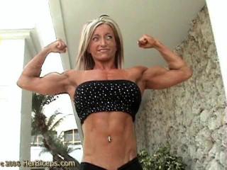 Galina Serdtsev - Fitness Model