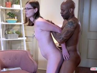 Hot TS Scarlette Robin Banged By Big Black Cock