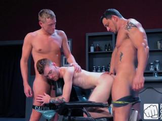Fisty's Barber Shop, Scene 1