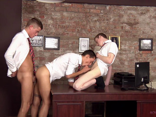 batc - Student Boys Horny Office Antics