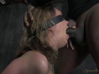Big breasted blonde Rain DeGrey brutally deep throated - HD 720p