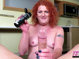 Mature Redhead Loves A Big Dick