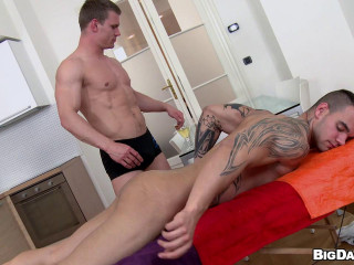 Lubricant Massaged Rectal Fuck-a-thon (Drago Lembeck, Ivo Kerk)