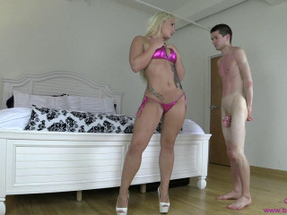 Cali Carter - Instructs Innocence Sub to Adore Bum