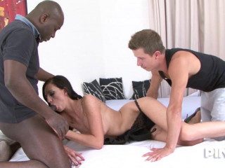 Sexy Babe Takes Black Cock With Her Husband